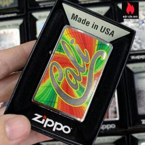 Zippo 200 Cali With Rustic Swirls