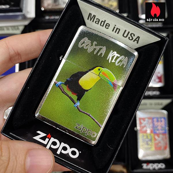 Zippo 200 Costa Rica Toucan