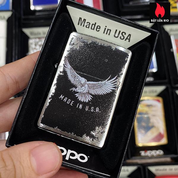 Zippo 200 Eagle Made In USA