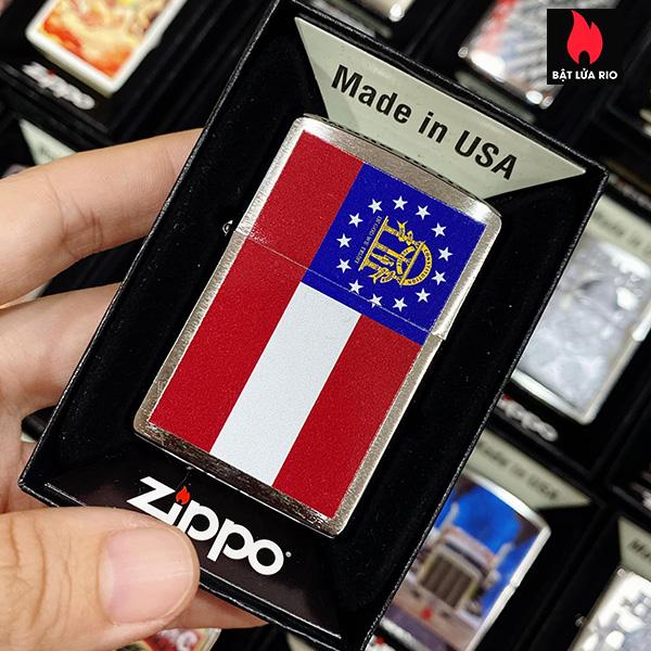 Zippo 200 Georgia Flag Design