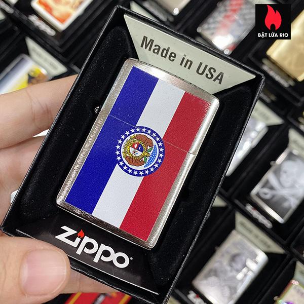 Zippo 200 Missouri Flag Design