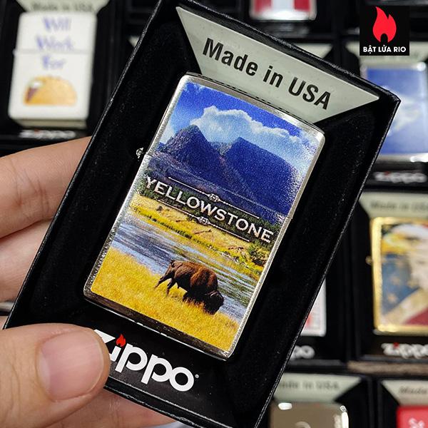 Zippo 200 Yellowstone Bison