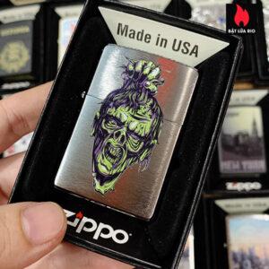 Zippo 200 Zombie Head