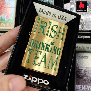 Zippo 204B Irish Drinking Team