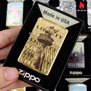 Zippo 204B Statue Of Liberty Torch