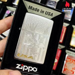 Zippo 205 Eagle Flag USA