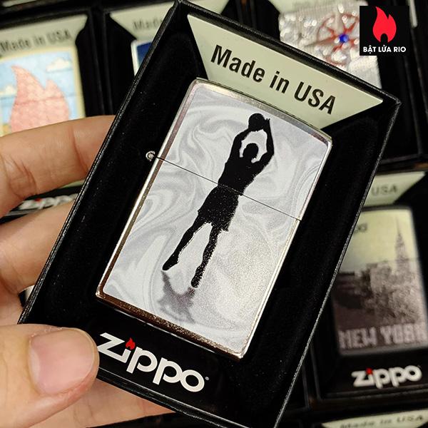 Zippo 207 Basketball Shadow