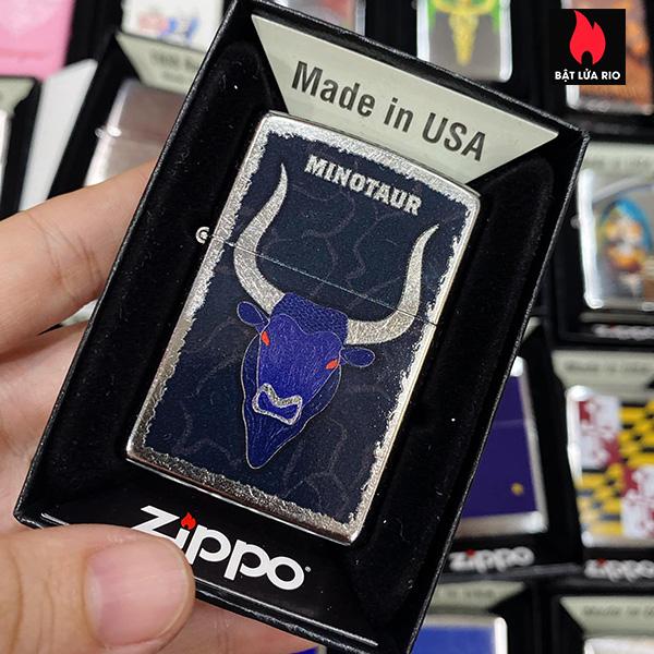 Zippo 207 Bull Design
