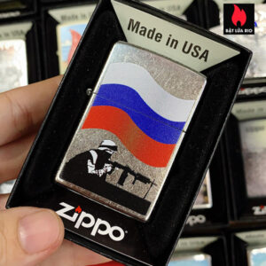 Zippo 207 Russian Soldier