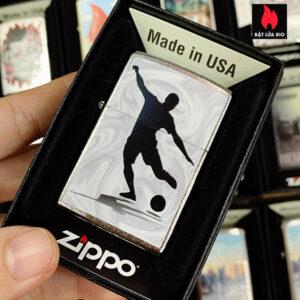 Zippo 207 Soccer Player Design