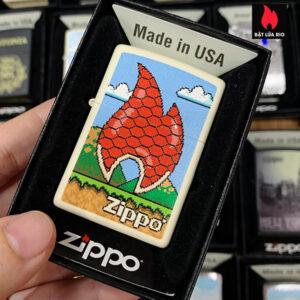 Zippo 216 Flames 8 Bit Design