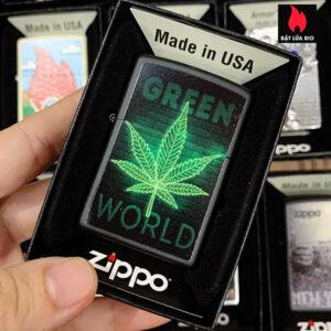 Zippo 218 Green World Design
