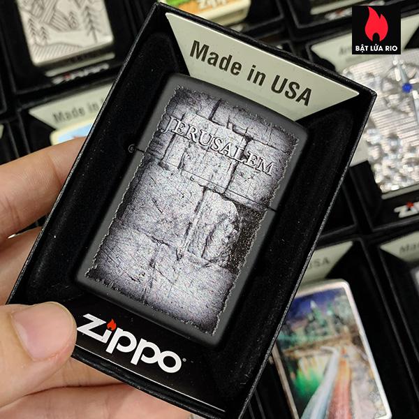 Zippo 218 Jerusalem Design