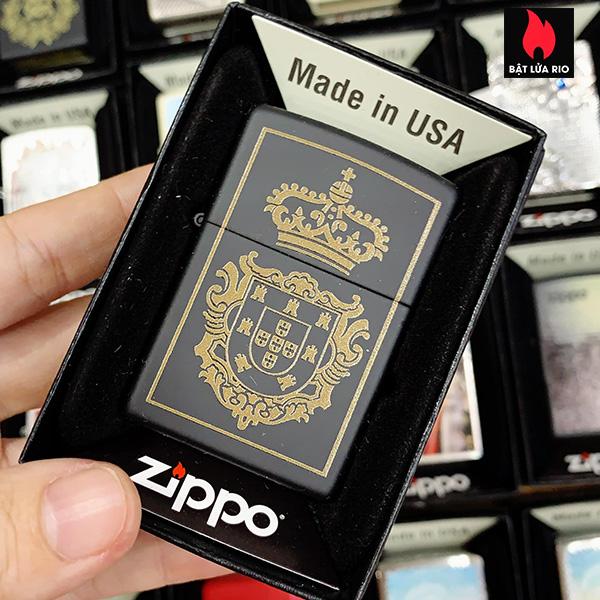 Zippo 218 Portuguese Crown