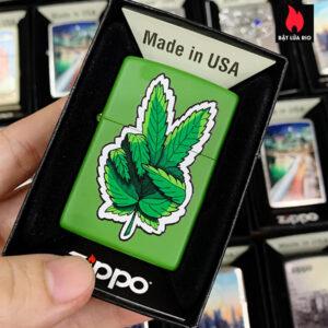 Zippo 228 Marijuana Hand