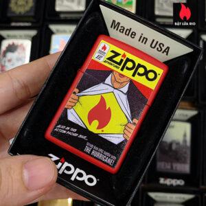 Zippo 233 Zippo Comic Design
