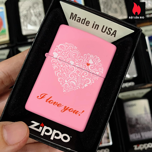 Zippo-238-Love-You-Design