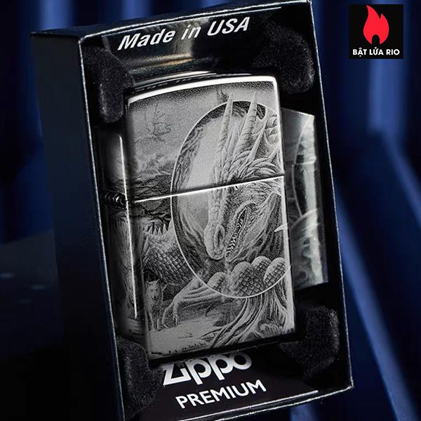Zippo 49287 – Zippo Lisa Parker Mythological High Polish Black 6