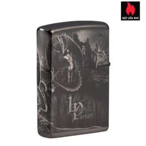 Zippo 49287 - Zippo Lisa Parker Mythological High Polish Black 2