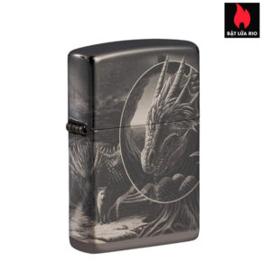 Zippo 49287 - Zippo Lisa Parker Mythological High Polish Black