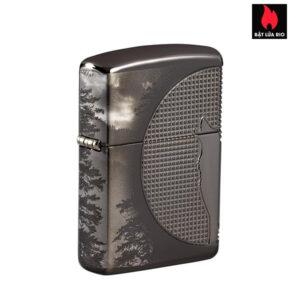 Zippo 49353 - Zippo Armor® Wolf Design Black Ice®