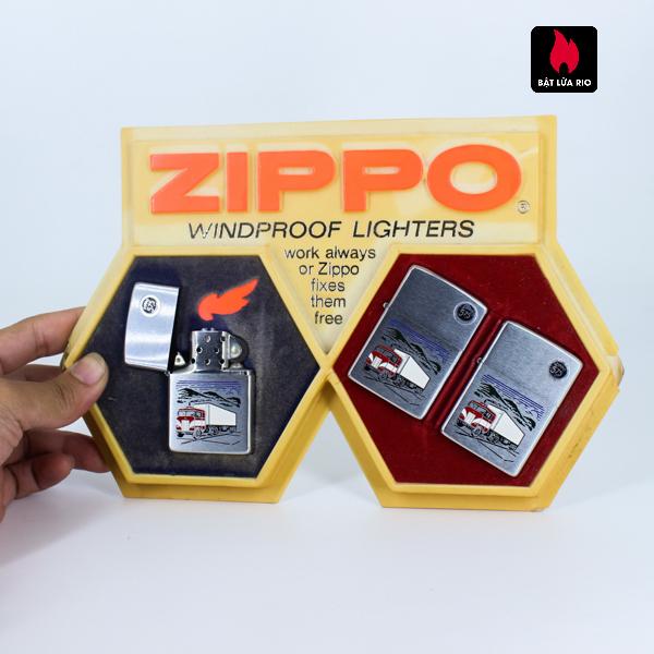 Serries Zippo - Zippo Xưa 1974 - Trucking Ligter 10