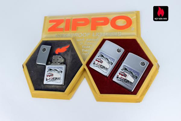 Serries Zippo - Zippo Xưa 1974 - Trucking Ligter 3