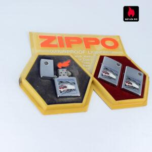 Serries Zippo - Zippo Xưa 1974 - Trucking Ligter