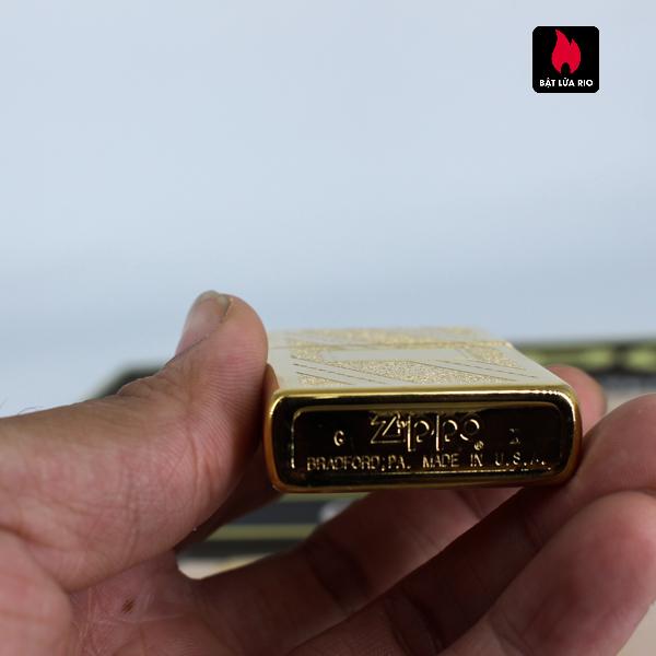 Set Zippo - Zippo La Mã 1993-1994 - Gold Plate - Golden Elegance 13