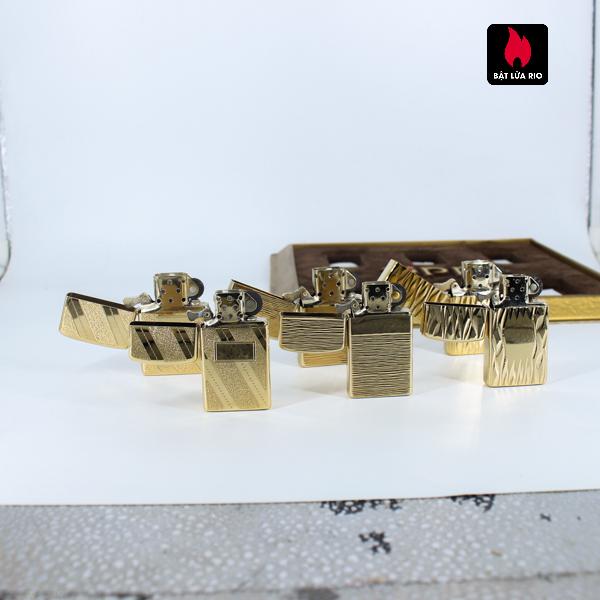 Set Zippo - Zippo Xưa 1970s - Gold Plate - Golden Elegance 12