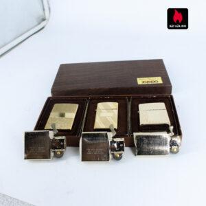 Set Zippo – Zippo Xưa 1976 – Gold Plate – Golden Elegance 4