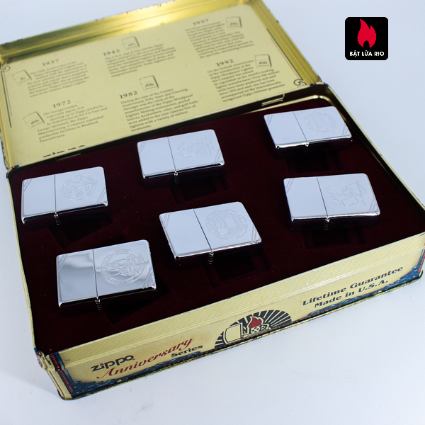 Zippo Set 1996 – 60th Anniversary Complete Set – 1992 Collectors Edition - Vintage Series 2