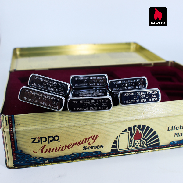 Zippo Set 1996 – 60th Anniversary Complete Set – 1992 Collectors Edition - Vintage Series 3
