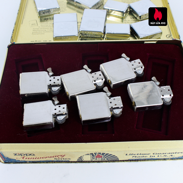 Zippo Set 1996 – 60th Anniversary Complete Set – 1992 Collectors Edition - Vintage Series 7