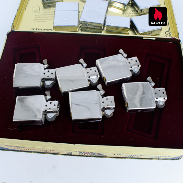 Zippo Set 1996 – 60th Anniversary Complete Set – 1992 Collectors Edition - Vintage Series 8