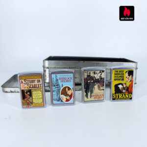 Zippo Set - Zippo 2001 & 1996 – The Adventures of Sherlock Holmes 7