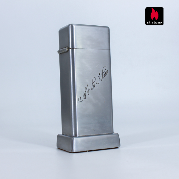 Zippo Table Barcroft #1 - One Step #10 Deluxe From 1939 - 1940