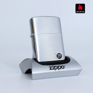 Zippo Xưa 1958 – Brushed Chrome – Plain – Trơn 2 Mặt
