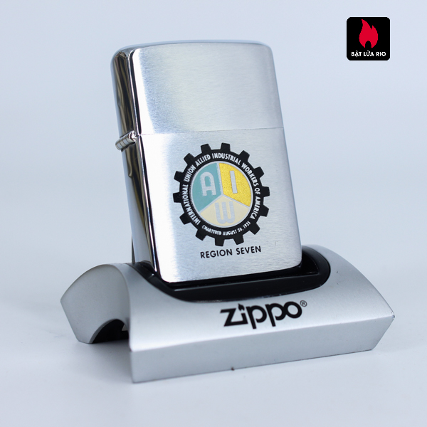 Zippo Xưa 1961 - Region Seven