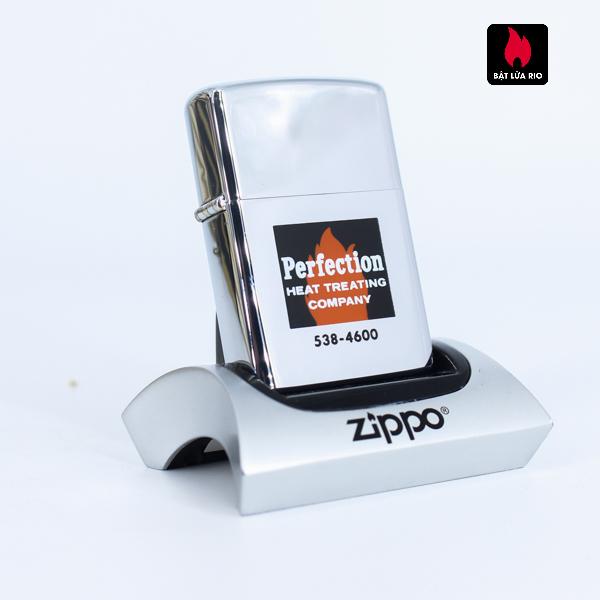 Zippo Xưa 1973 - Perfection Heat Treating Company