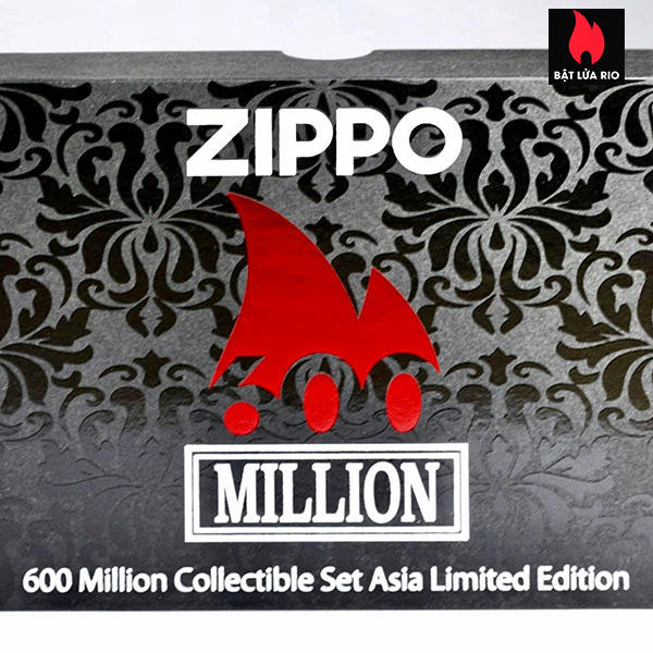 Zippo 600th Million Collectible Set Asia Limited Edition - Zippo CZA-3-22 8