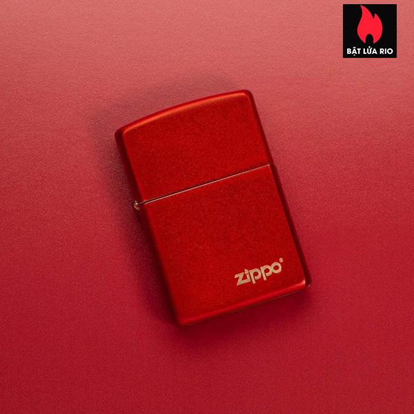 Zippo 49475ZL - Zippo Metallic Red Zippo Logo 1