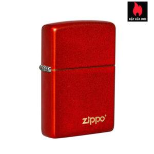 Zippo 49475ZL - Zippo Metallic Red Zippo Logo