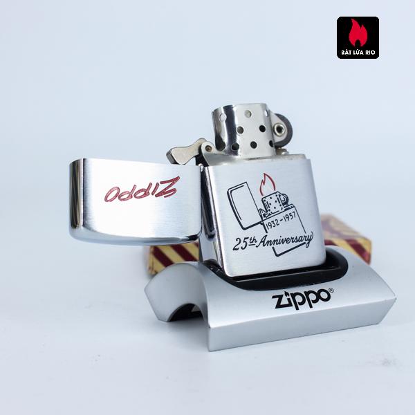 Hiếm - Zippo 1957 - 25th Anniversary - Kỉ Niệm 25 Năm Thành Lập Hãng Zippo 3