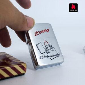 Hiếm - Zippo 1957 - 25th Anniversary - Kỉ Niệm 25 Năm Thành Lập Hãng Zippo 8