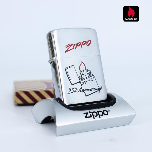 Hiếm - Zippo 1957 - 25th Anniversary - Kỉ Niệm 25 Năm Thành Lập Hãng Zippo