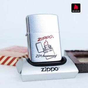 Zippo 1957 – 25th Anniversary – W.C.M – Kỉ Niệm 25 Năm Thành Lập Hãng Zippo