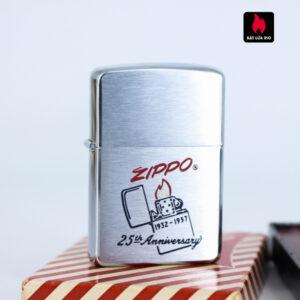Zippo 1957 – 25th Anniversary – W.C.M – Kỉ Niệm 25 Năm Thành Lập Hãng Zippo 7
