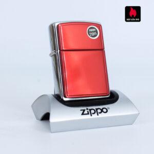 Zippo 2002 - Red Anodized Aluminum