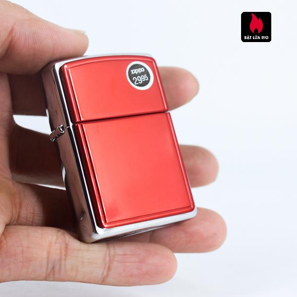 Zippo 2002 - Red Anodized Aluminum 6
